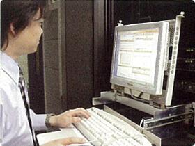 ウイルスサーバーシステム施工設置1