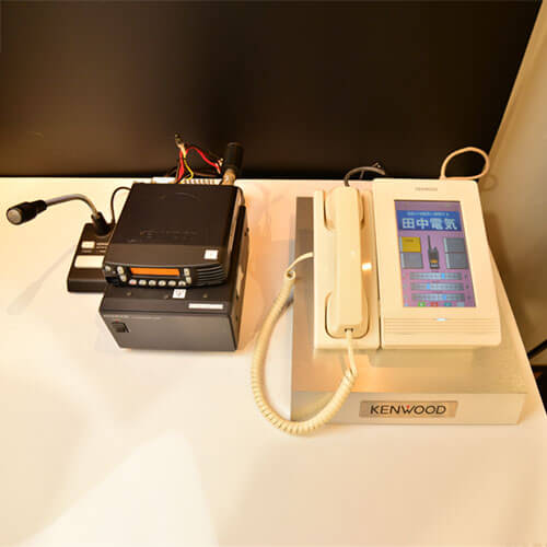 KENWOOD IP対応遠隔制御無線システム