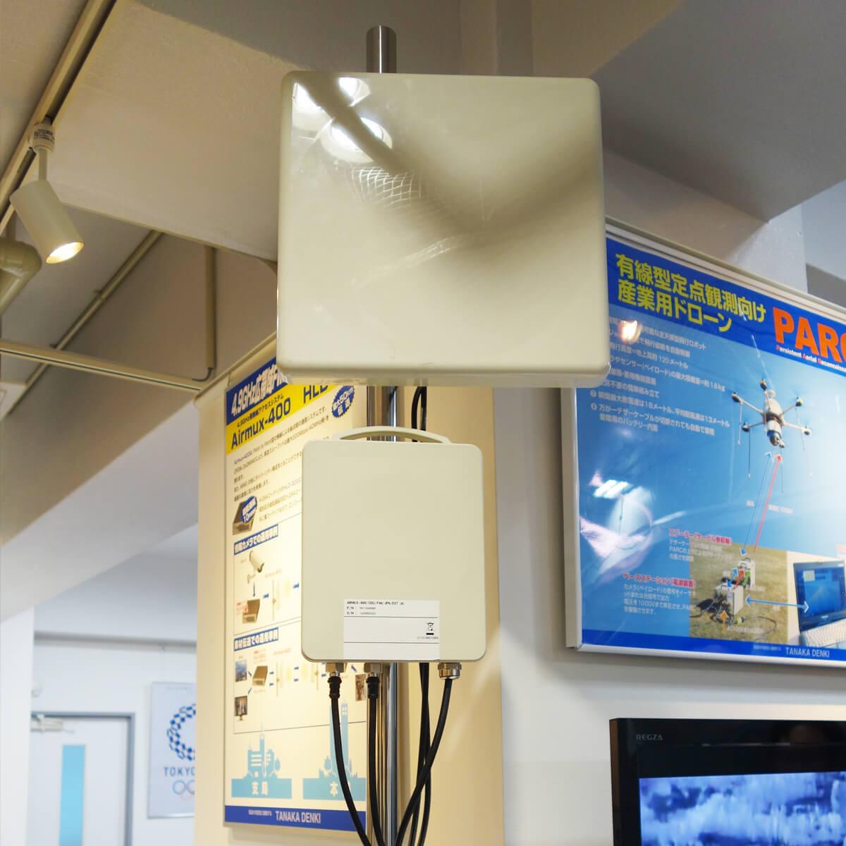 5GHz帯無線アクセスシステム RAD Airmux-400