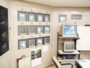 商用ビル監視カメラ設置工事