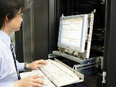 通信社ウイルスサーバー設置工事